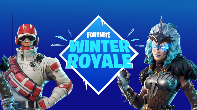 epic games organiza el torneo de fortnite winter royale. Black Bedroom Furniture Sets. Home Design Ideas