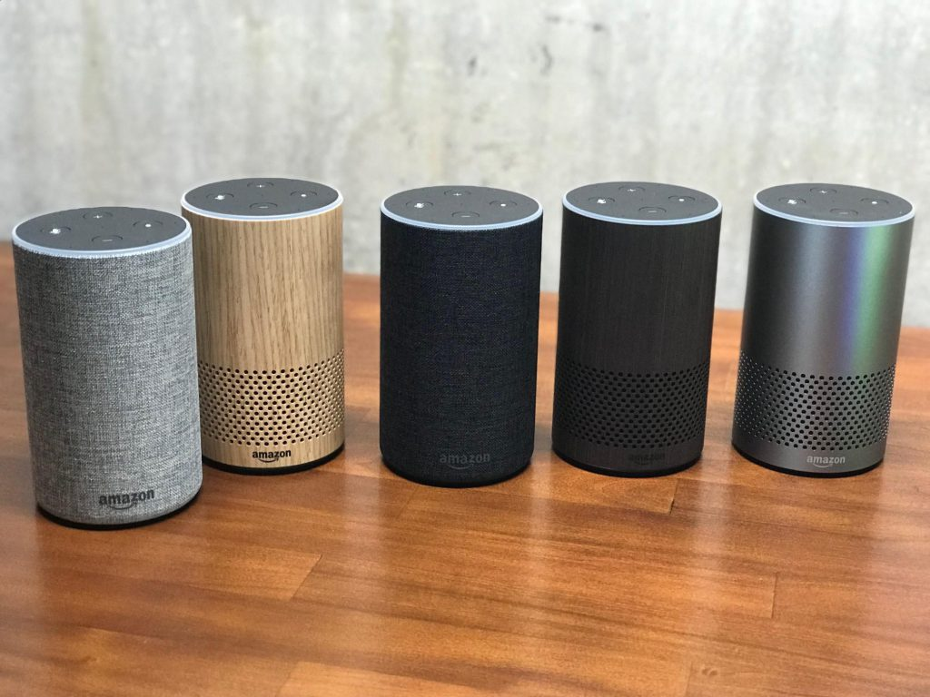 Amazon Echo Gama Productos