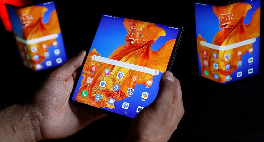 Huawei Mate Xs standard smartphone