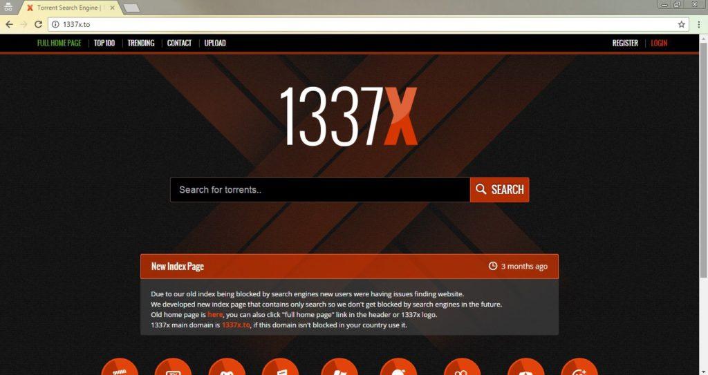 descargar torrents en 1337x